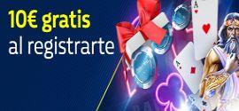 10€ Gratis al Registrarte
